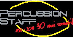 Percussion Staff 1984 - 2014